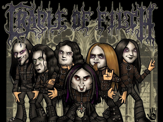 Концерт Cradle of Filth в Екатеринбурге