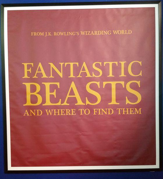 Лого фильма «Фантастические звери и места их обитания»