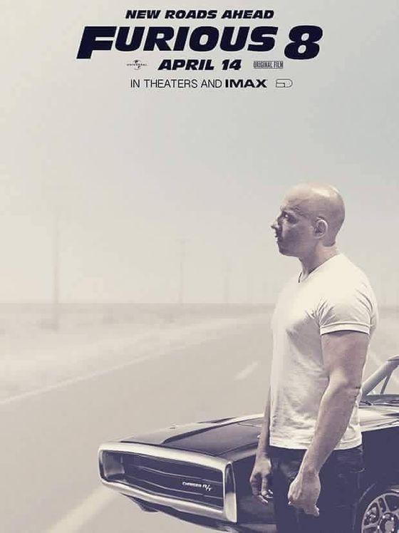 Постер фильма «Форсаж 8»