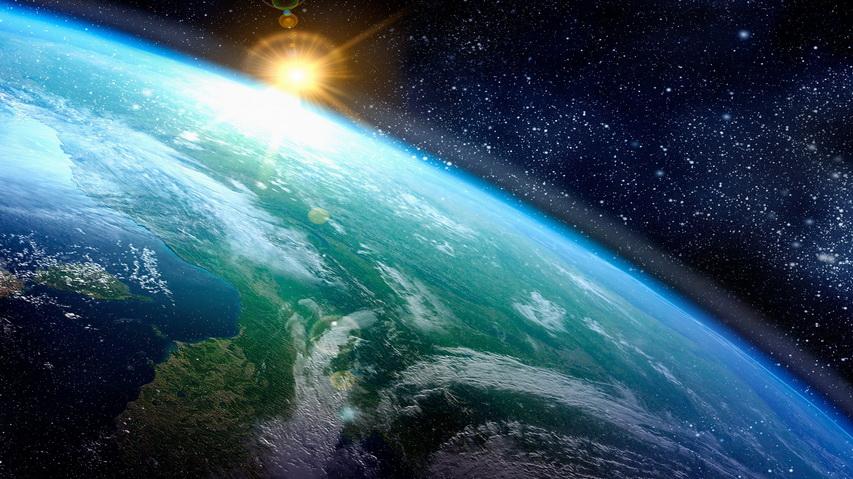 Земля из космоса. Фото с сайта mandavoshki.ru
