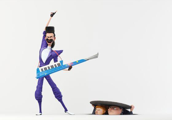 Промо мультфильма «Гадкий я 3»