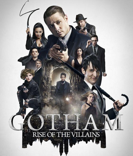 Постер сериала «Готэм»