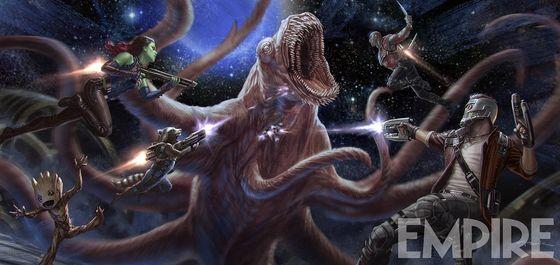 Промо фильма «Стражи Галактики. Часть 2»