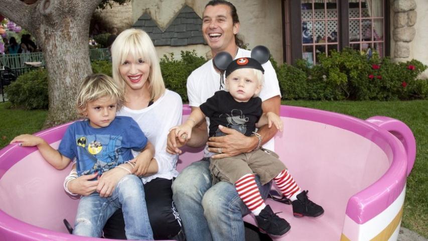 Гвен Стефани и Гэвин Россдэйл с детьми. Фото с сайта Macbeth