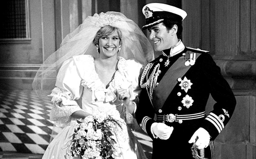 Кадр из фильма «Чарльз и Диана: История королевской любви»