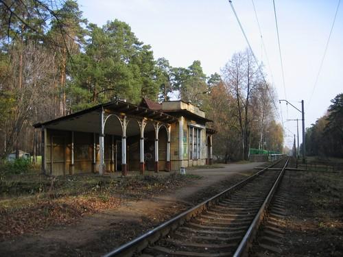 Платформа Ильинское, Московская железная дорога. Не сохранилась. Фотограф Д. Соболев