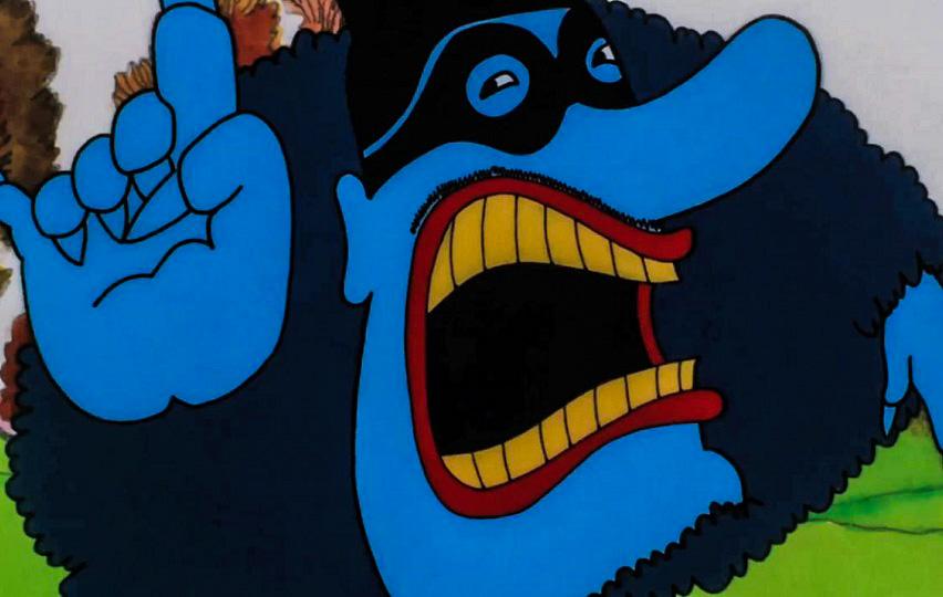 Кадр из мультфильма «Желтая подводная лодка»