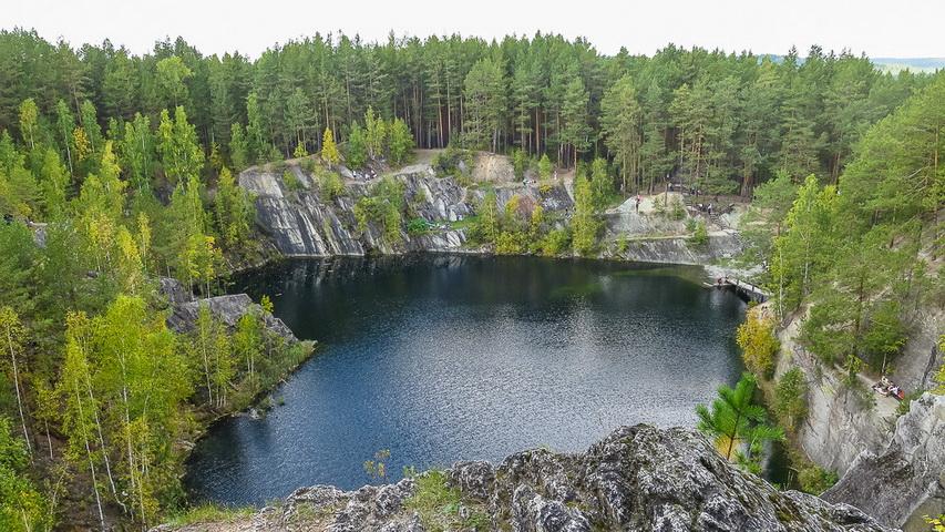 Карьер Тальков Камень. Фото с сайта travelopen.ru