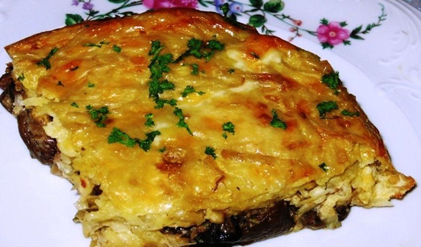 Приготовить картофельную запеканку с грибами в духовке