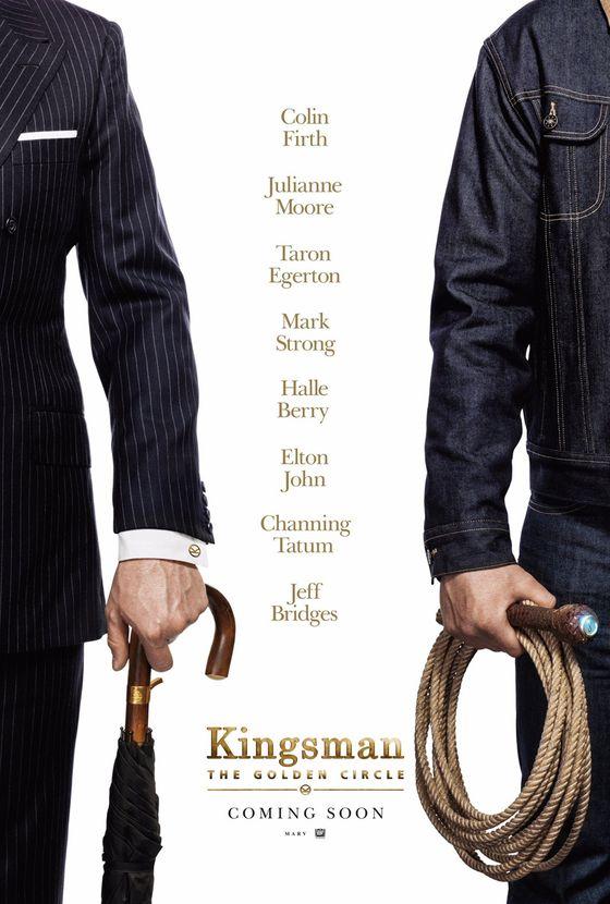 Постер фильма «Кингсман: Золотой круг»