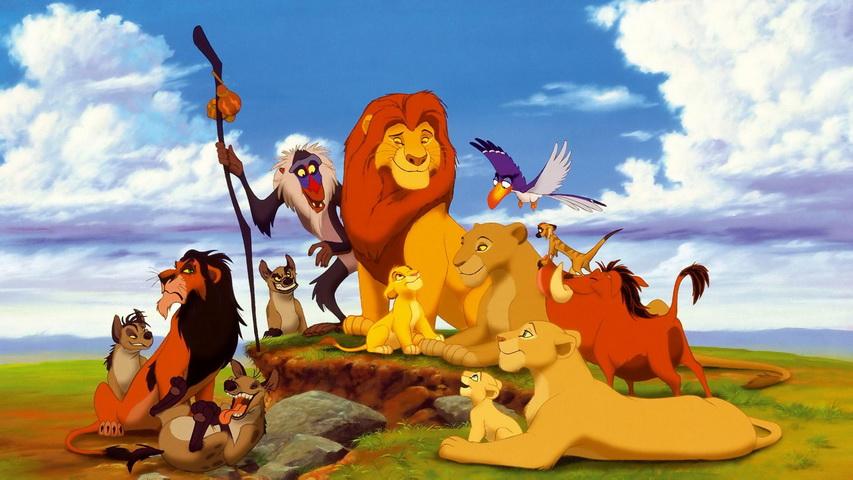 Постер к мультфильму «Король лев». Изображение с сайта poleznoe.ru
