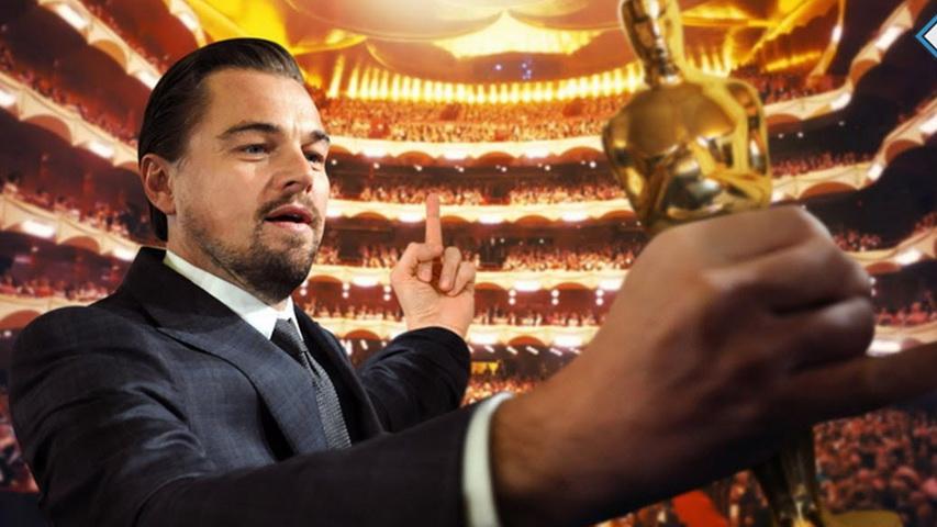 Леонардо ДиКаприо и Оскар. Изображение с сайта youtube.com