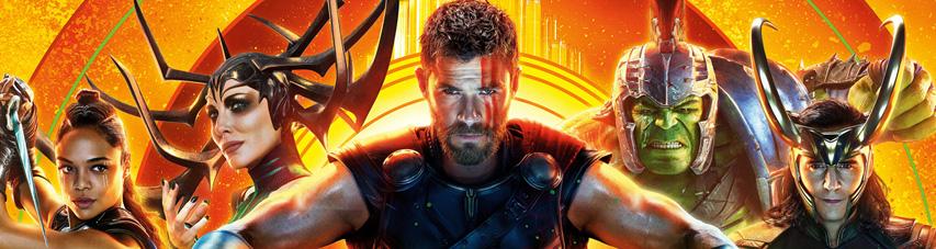 Постер фильма «Тор: Рагнарёк»