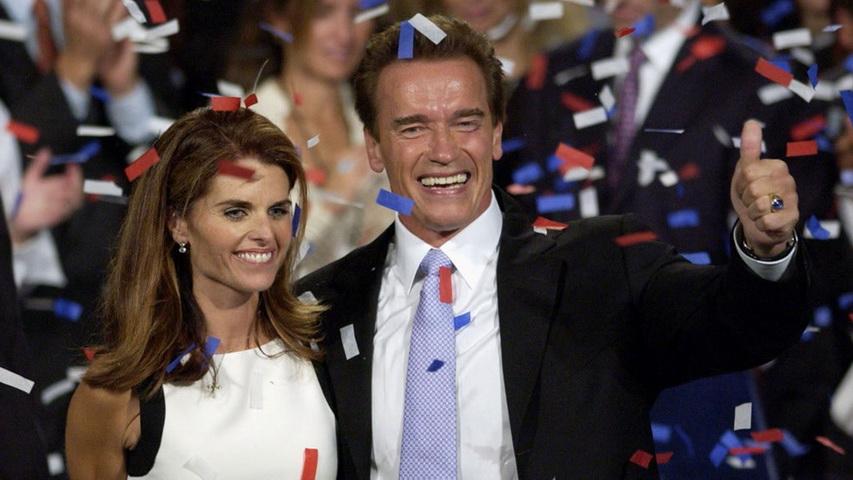 Арнольд Шварценеггер и Мария Шрайвер. Фото с сайта eju.tv