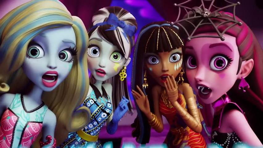 Школа монстров Хай. Изображение с сайта youtube.com/