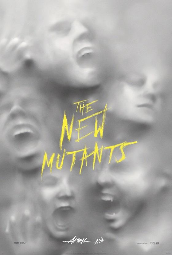 Постер фильма «Новые мутанты»