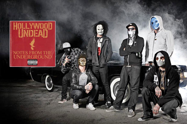 Hollywood Undead       171  Notes From The Underground   187 Hollywood Undead Wallpaper Notes From The Underground
