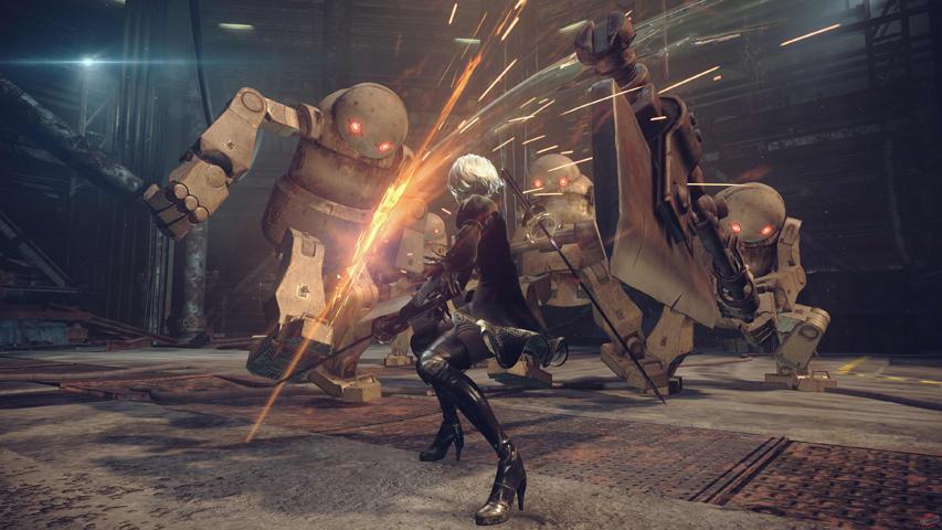 Скриншот из игры «Nier: Automata»