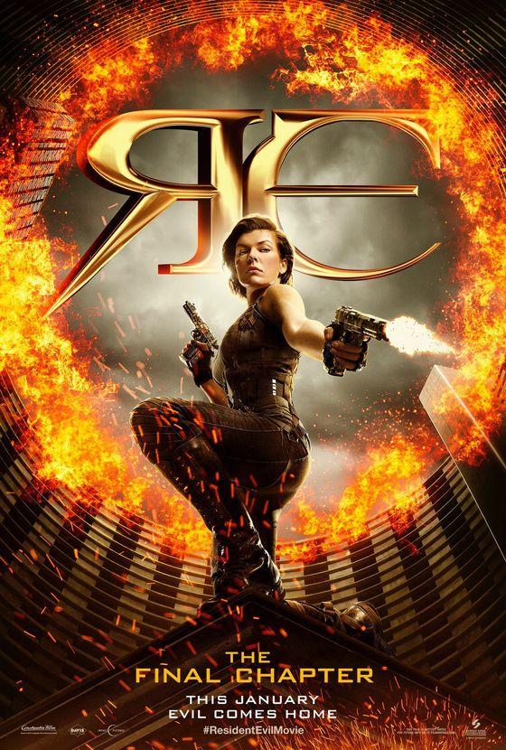 Постер фильма «Обитель зла»