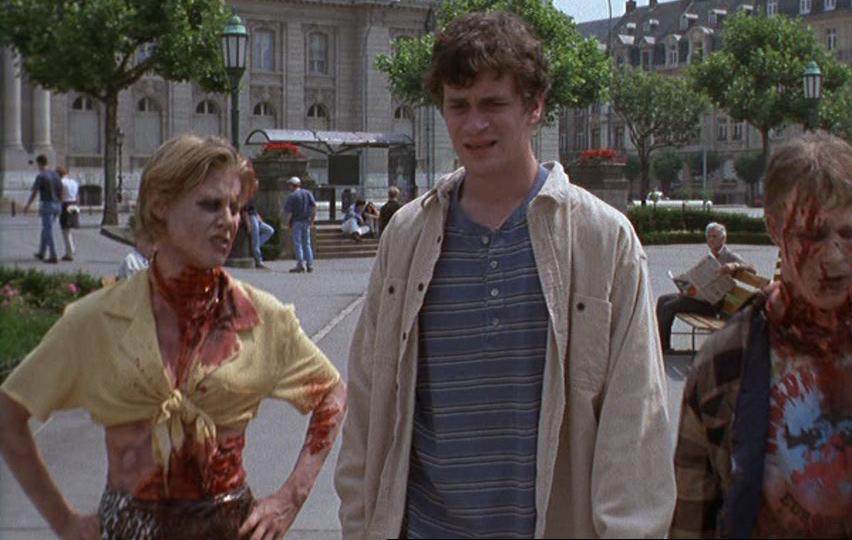 Кадр из фильма «Американский оборотень в Париже»