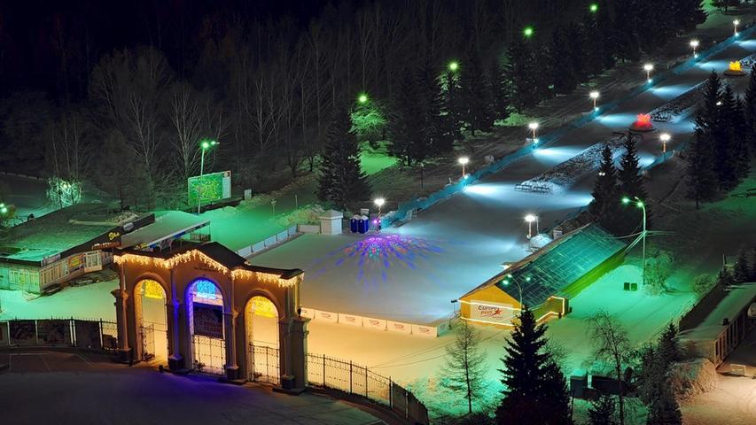Каток в парке Маяковского. Фото с сайта rusgo.ru