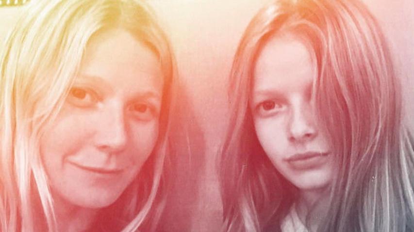 Гвинет Пэлтроу с дочкой Эппл. Фото с сайта Wday.ru