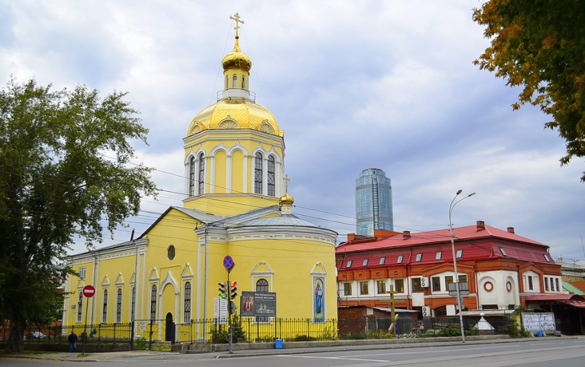 Крестовоздвиженская церковь. Фото с сайта its.ekburg.ru