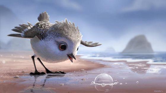 Кадр из мультфильма «Пайпер»