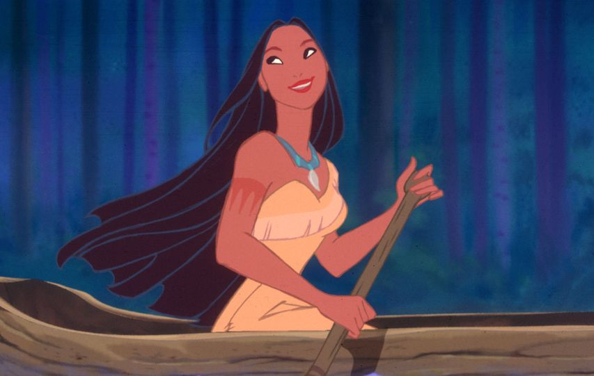 Кадр из мультфильма «Покахонтас»