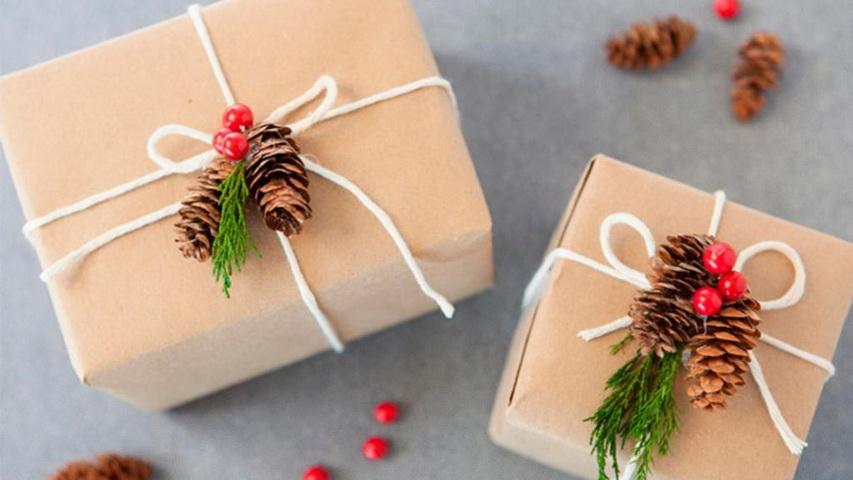 Новогодний подарок своими руками. Фото с сайта ecomedia.lv