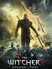 Обложка игры The Witcher 2
