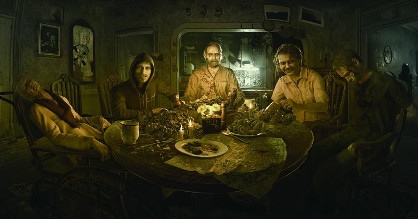 Арт к игре «Resident Evil 7: Biohazard»