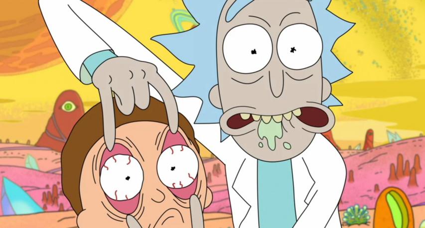 Кадр из анимационного сериала «Рик и Морти»
