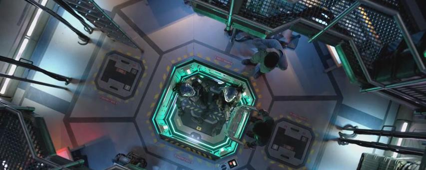 Кадр из сериала «Пространство»