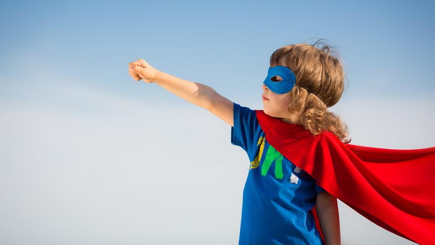 Юный супергерой. Фото с сайта kevinmd.com