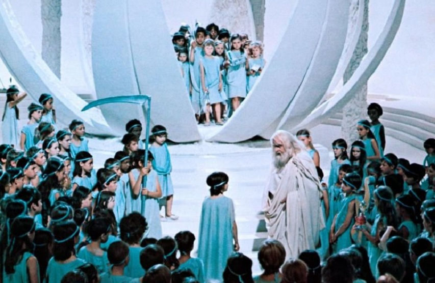 Кадр из фильма «Синяя птица»