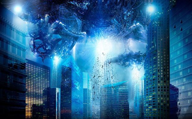 Постер фильма «Скайлайн»
