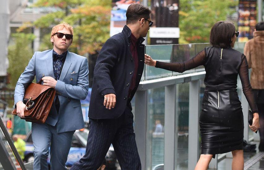 На съемках сериала «Большой куш». Фото с сайта comingsoon.net