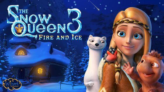 Постер мультфильма «Снежная королева 3: Огонь и лед»