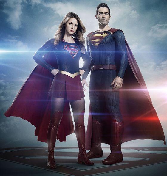 Промо сериала «Супергерл»