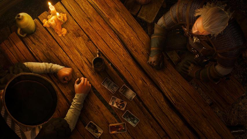 Скриншот из игры «The Witcher 3»