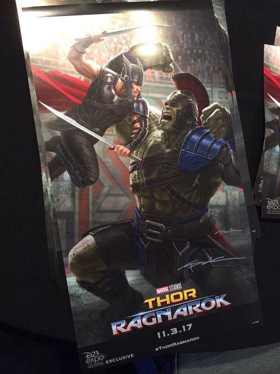 Постер фильма «Тор: Рагнарек»