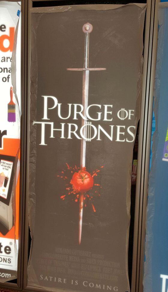 Постер фильма «Purge of Thrones»