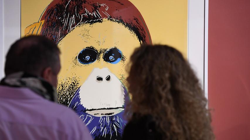 Выставка «Энди Уорхол. Вымирающие виды». Фото с сайта gazeta.ru
