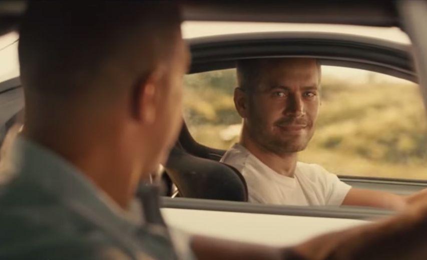 Кадр из фильма «Форсаж 7»
