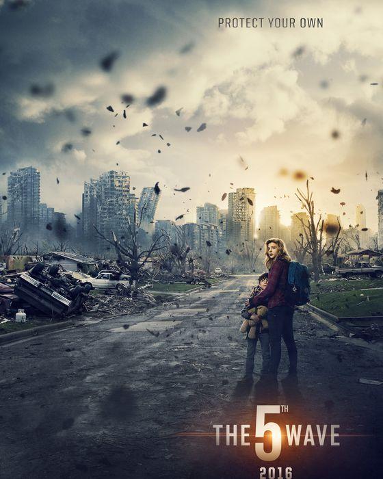 Постер фильма «Пятая волна»