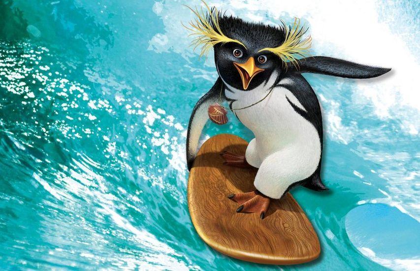 Кадр из мультфильма «Лови волну»