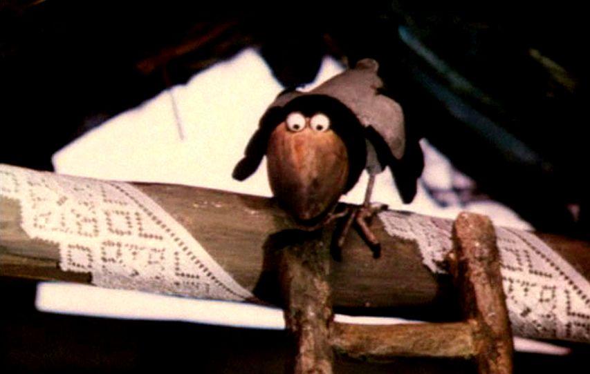 Кадр из мультфильма «Возвращение домовенка»