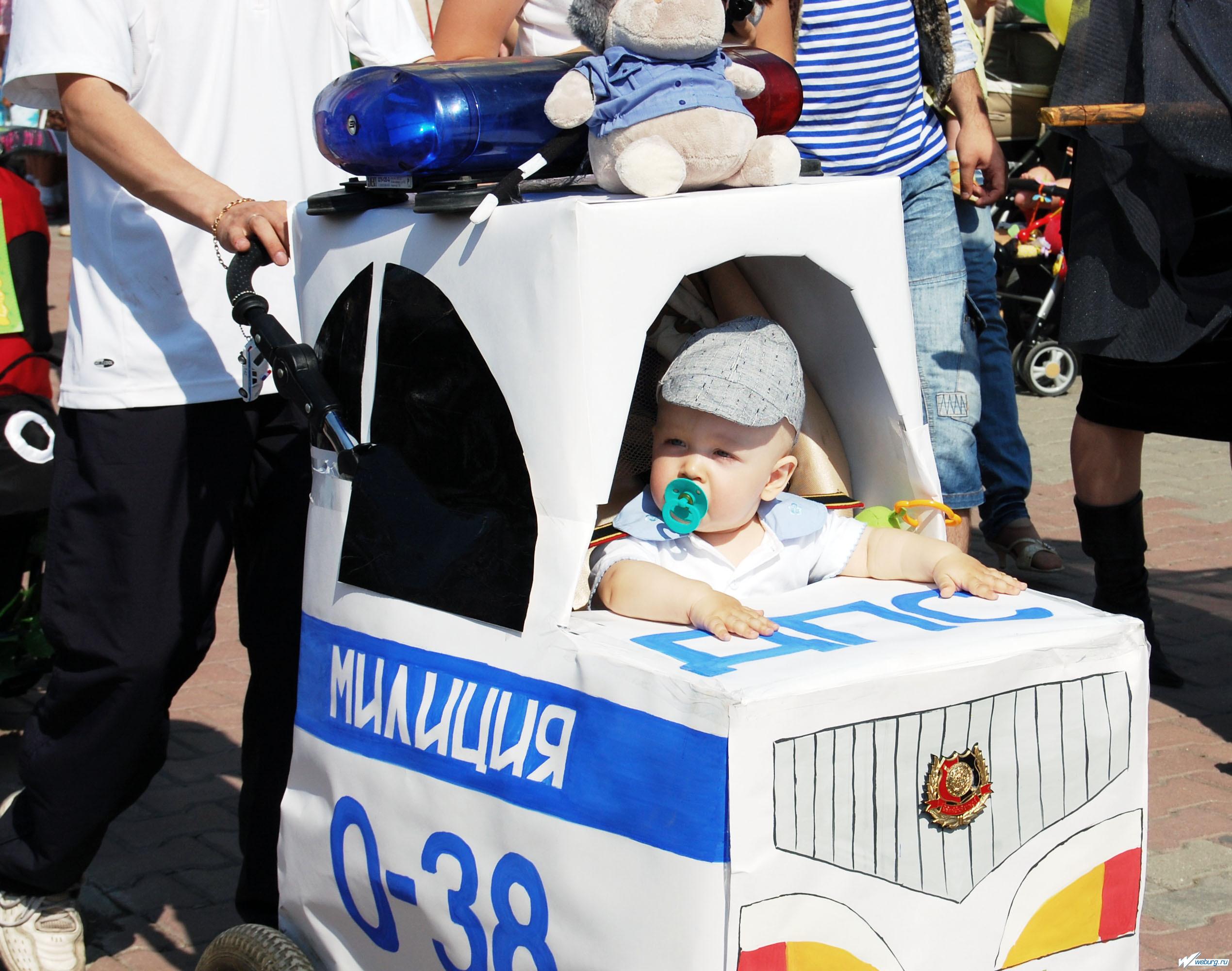 Парад колясок своими руками для мальчиков фото