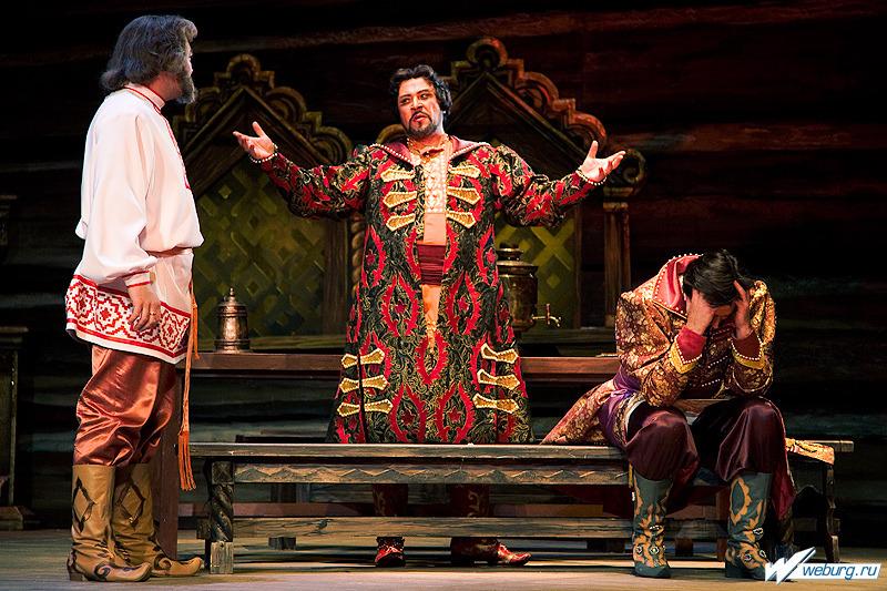 Действие царской невесты происходит в знаменитой оперы николая римского-корсакова царская невеста